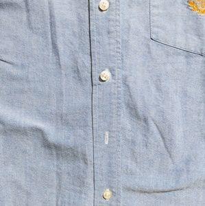 Lauren Ralph Lauren Shirts & Tops - Lauren Ralph Lauren Youth Blue Button Shirt sz 12